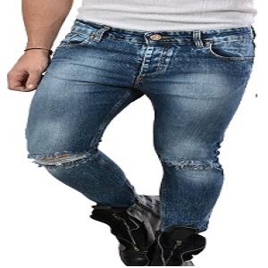 Jeans strappo ginocchio