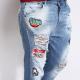 Jeans con applicazioni Imperial