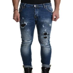 Jeans Strappato Skinny