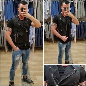 Jeans Skinny Chiari Con Rotture La Matta Abbigliamento Shop Online