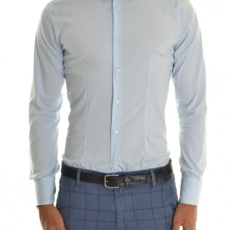 Camicia uomo azzurra camicia Xagon Man