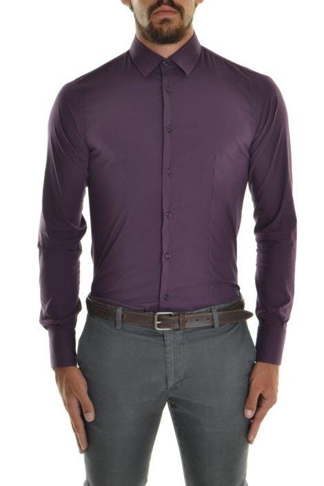 Camicia Uomo viola Prugna Xagon Man