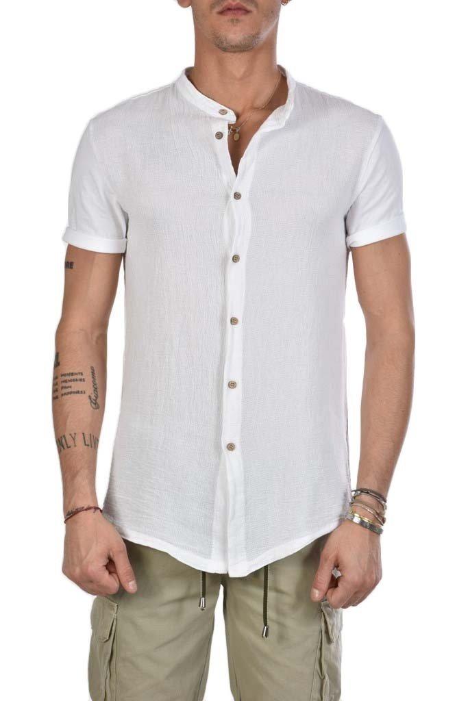La Matta T Xagon Shirt Uomo Man AbbigliamentoShop Lino yb76IYvfmg