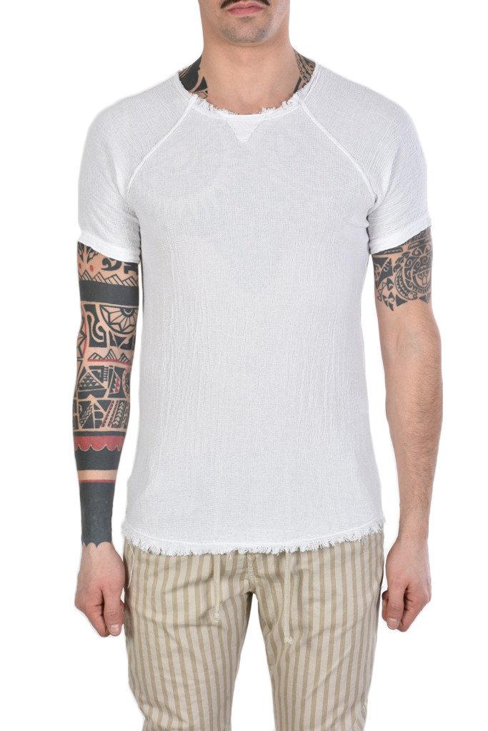 T Shirt Uomo Lino