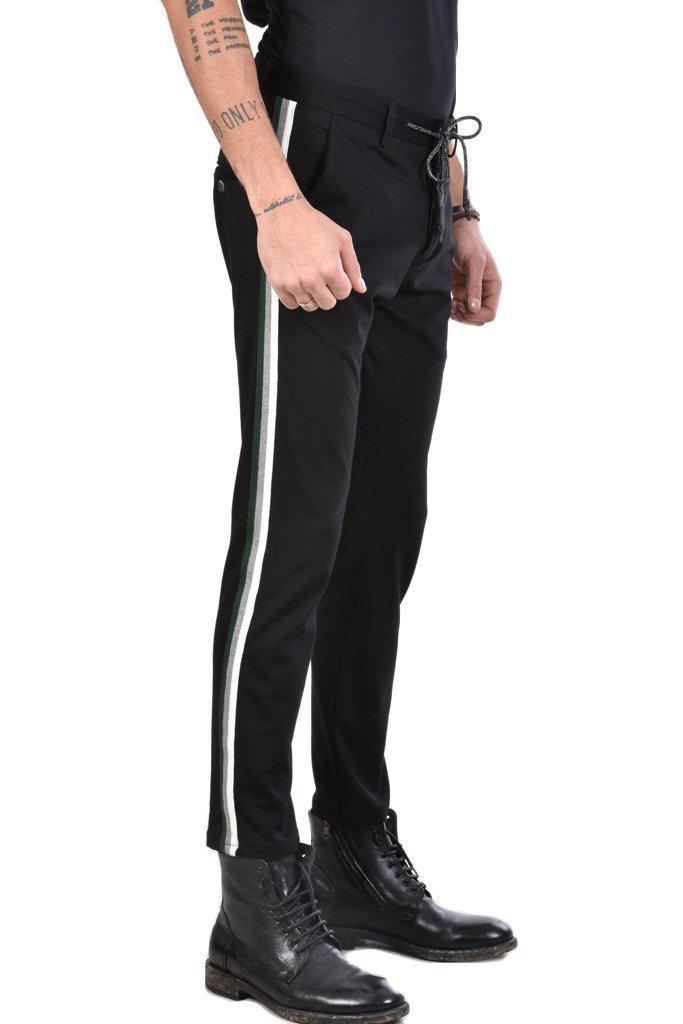 pantaloni banda laterale