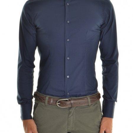 Camicia Uomo Blu Camicia Xagon man