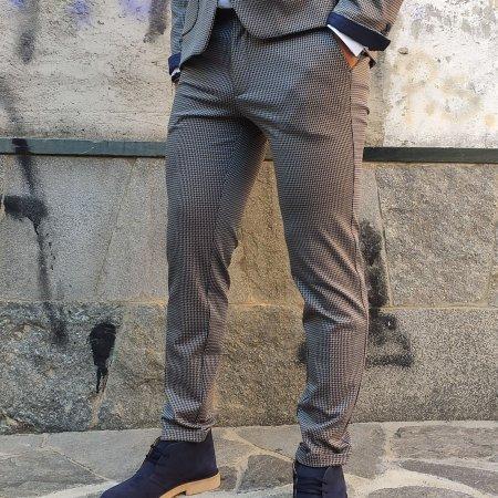 Pantaloni Pied de poule Uomo XAGON MAN
