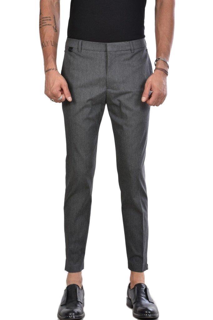 prezzo limitato dove comprare vendita limitata Pantaloni Skinny con zip sul fondo su base Grigia **ESAURITI**