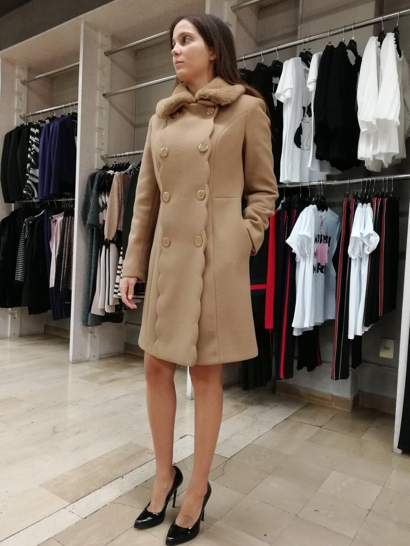 Cappotto Donna RINASCIMENTO- LAMATTA Abbigliamento  dfc7e79b31d