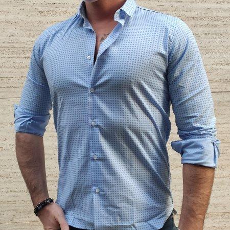 Camicie stampate uomo SL56