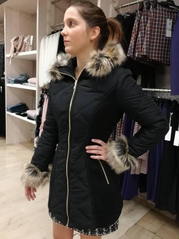 RINASCIMENTO Cappotti color Nero - LA MATTA Abbigliamento  d2bc4159af1