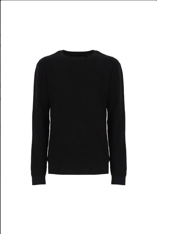 nuovo prodotto d5c01 7b1e5 Maglioni Uomo IMPERIAL color Nero - LA MATTA Abbigliamento | Shop