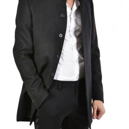 Cappotto Nero Uomo XAGON MAN