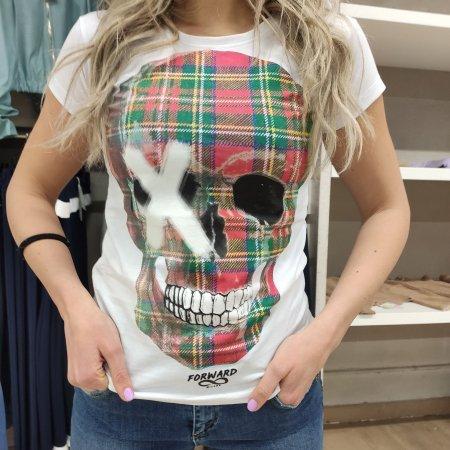 T Shirt Teschio donna FORWARD Milano