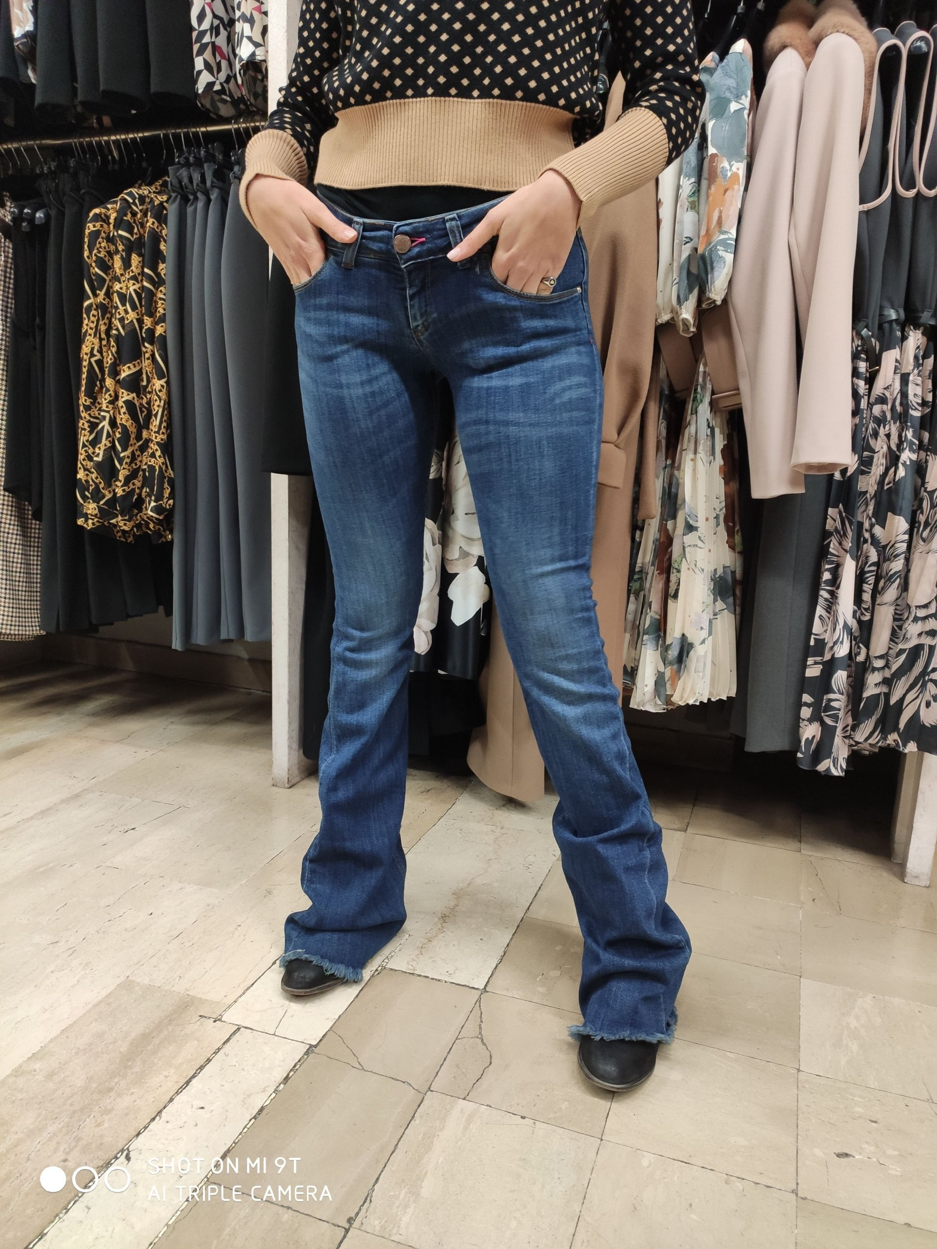 Jeans Zampa Donna DISPLAJ