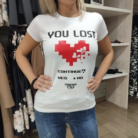 T Shirt Donna FORWARD Milano