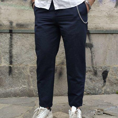 Pantaloni Lino Uomo BERNA