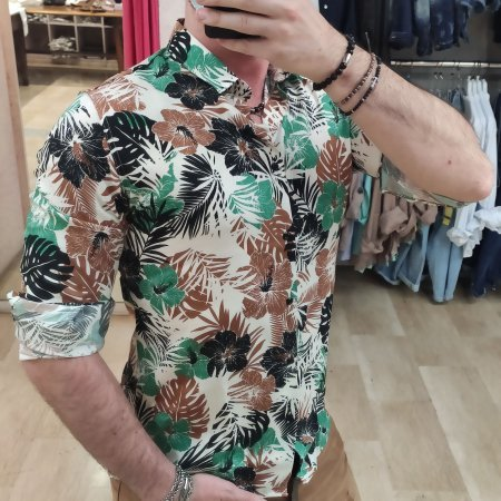 Camicia Uomo Viscosa SL56