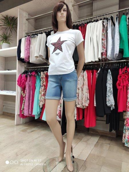 Shorts jeans donna RINASCIMENTO